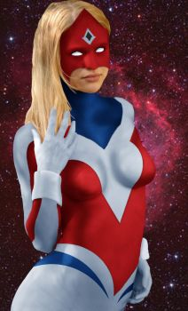 Marvel A-Z Captain UK by DaswookofHeromorph