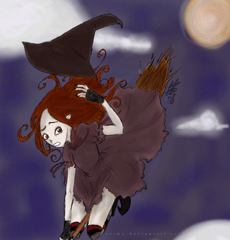 The Witch's Hat by arima