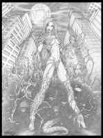 Witchblade and Darklings by Killersha
