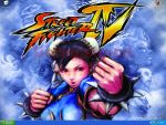 desktop screen - sfIV chun li by AndWii