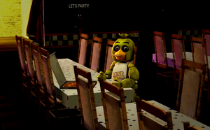 Chica finally tastes pizza for the first time by gold94chica