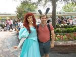 Me with Ariel (2) by montey4