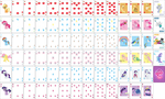 MLP FiM Playing Card Deck by Chromadancer