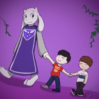 Do not worry, my children. by wecanmakeforever