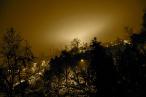 Hlubina at night by smile-lover