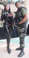 The Baroness and Stalker of G.I. Joe by trivto