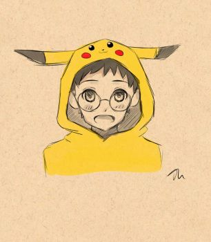 30 Day Drawing Challenge - Day 3 Onoda Sakamichi by awesomekittycatme