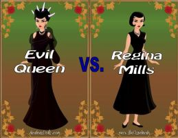 Queen vs. Regina by Sunshine-Girl524