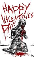 Happy valentines day by ZombPunk