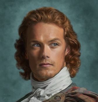 Sam Heughan - Wedding by Brekke17