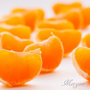Tangerine candied fruit 1 by Morgaer