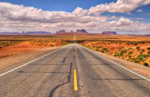 The Road to Monument Valley by eDDie-TK