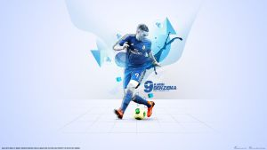 Benzema 9 Real Madrid By Namo,7 by 445578gfx