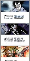 Bookmarks Final Set by ZiBaricon