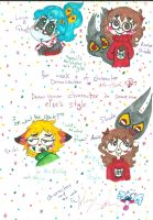 Character Drawcember week 4 in ather art style by Kittychan2005