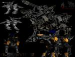 shadowfox zoids by gadisku