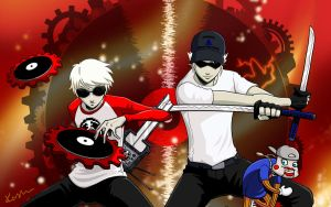 team strider - dave and bro by jigenbakudan