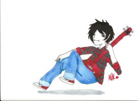 Marshall Lee by nekokitty54321
