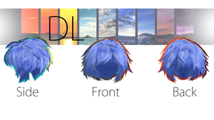 TDA Male Hair Edit [DOWNLOAD] Fixed DL by NephnaShine