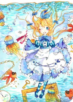.: Alice in Waterland :. by lynchees