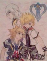 Kingdom Hearts II by animedemon77