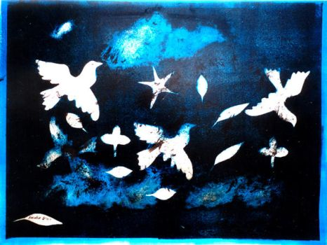 white doves by amalia51