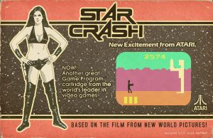 Star Crash Atari by Hartter