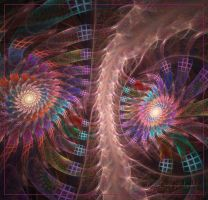 Infinity  Fractal stairs by lady-AquaLena