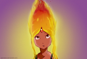 Super Gross Flame Princess by ZolaLink