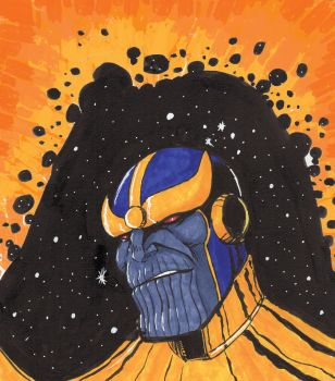 Thanos by goblinmusic
