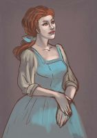 belle sketch by audreymolinatti
