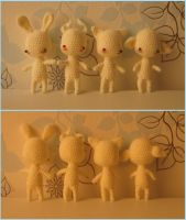Mini-dolls, basic by Yuki87