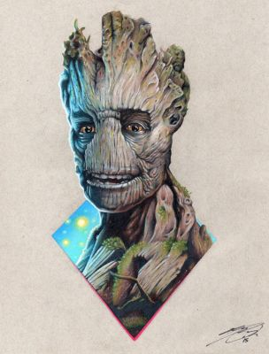 Groot by KYLE-CHANEY
