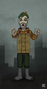 The End is Coming by S-K-E