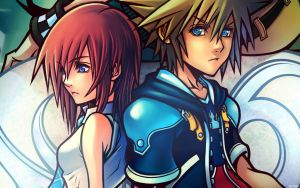Sora and Kairi by SxyfrG