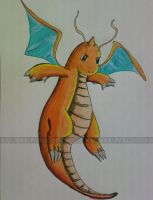 Dragonite by Bloo-DKai12