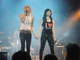 The Veronicas 3 by georgiasassenfeld