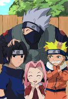 Naruto Team 7 finished by anneleen
