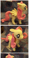 Fluttershy Plush by sharkie19