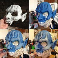Raziel Face Cast - Painting 1 by SketchMcDraw