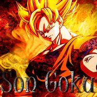 Son Goku Icon by MissCatarina