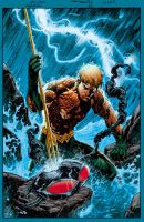 Aquaman by Elliscarlos