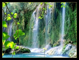 Waterfall In Koprulu - Turkey by skarzynscy
