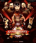 ROH 13Th Anniversary custom poster by Mohamed-Fahmy