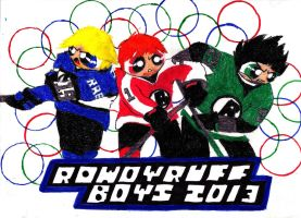 Rowdyruff Hockey by transformers3roxCB