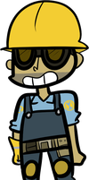 Engie! by DuckyDeathly