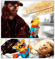 Smithsonian Bucky Bear by the-physicist