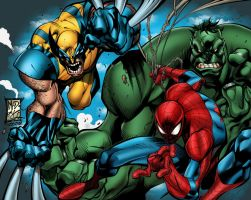 Marvel Avenging Spiderman by rcardoso530
