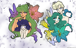 Coloured Lillies - Outers by soapboxinggeek