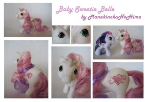 Baby Sweetie Belle - collage by ManekinekoNoHime
